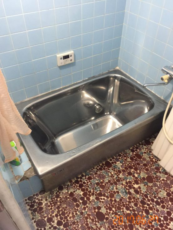 MIYACOCO リフォーム 改修前浴室