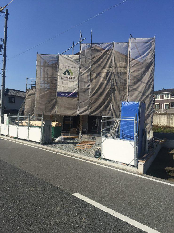 MIYACOCO 外壁工事