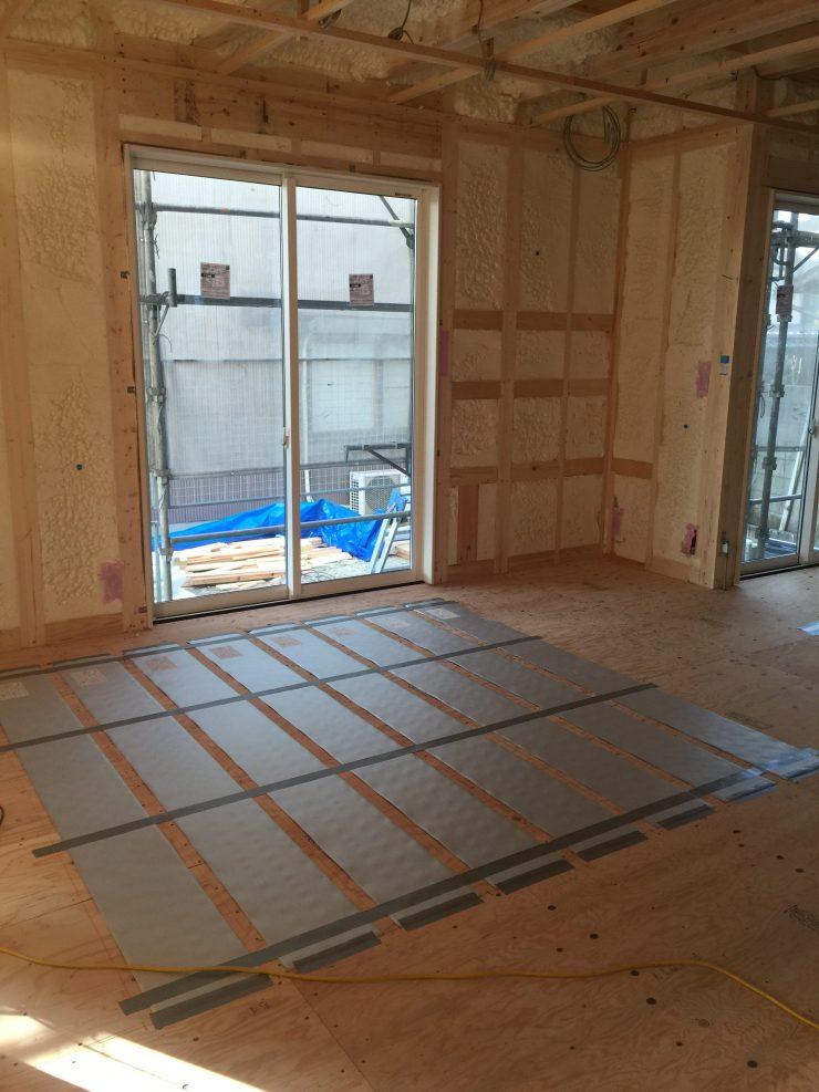 MIYACOCO 電気式床暖房 リビング