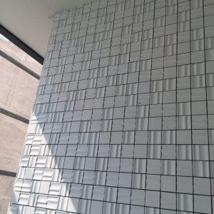 タイル外壁。