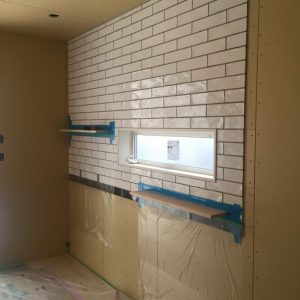 キッチン壁タイル。