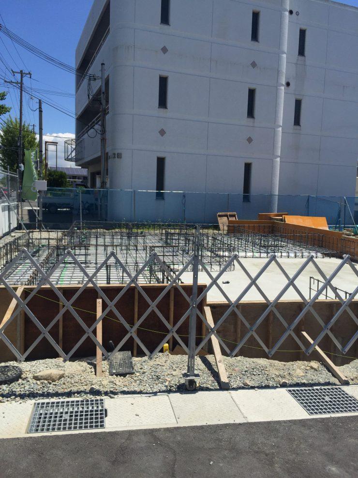 MIYACOCO モデルハウス 基礎工事