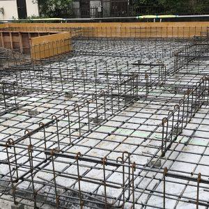 MIYACOCO 戸建新築工事 基礎打ちました。