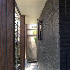 MIYACOCO 戸建新築工事 外壁サイディング工事完了。
