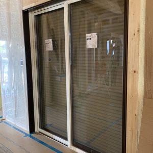 MIYACOCO 戸建新築工事 窓サッシ。