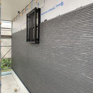 MIYACOCO 戸建新築工事 外壁サイディング工事。