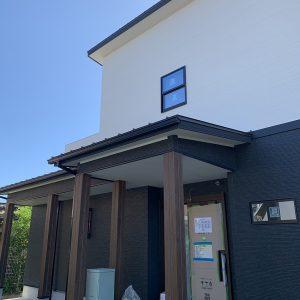 MIYACOCO 戸建新築工事 足場解体。