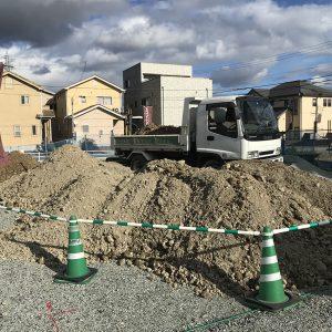 中浜L号地 戸建新築工事が始まりました!